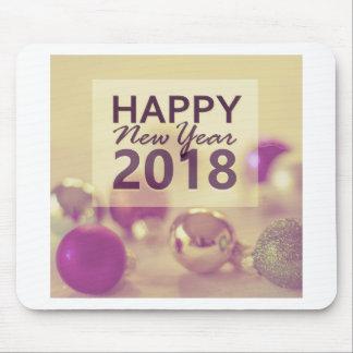 gelukkig nieuw jaar 2018 muismat