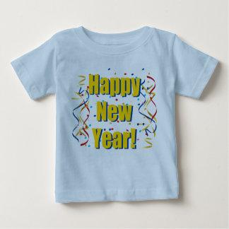 gelukkig nieuw jaaroverhemd baby t shirts