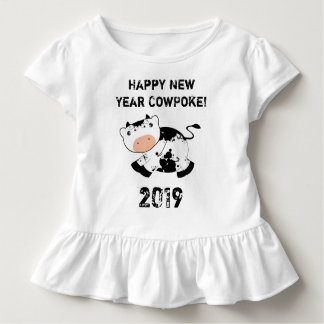 Gelukkig Nieuwjaar CowPoke! T-shirt
