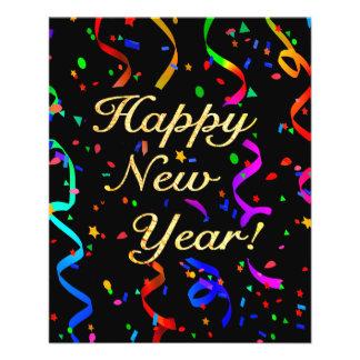 """""""Gelukkig Nieuwjaar! """" Flyer 11,4 X 14,2 Cm"""