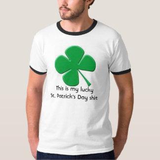 Gelukkig Overhemd T Shirt