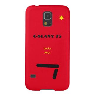 Gelukkig Rood Hoesje 7 van Samsung S5