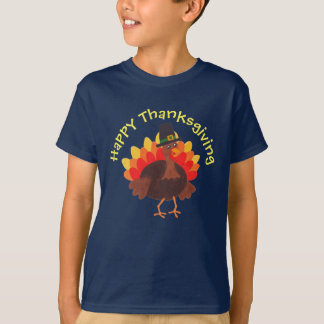 """Gelukkig Turkije """"Gelukkige Thanksgiving"""" - T Shirt"""