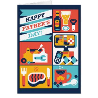Gelukkig Vaderdag! Briefkaarten 0