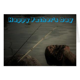 Gelukkig Vaderdag die Wenskaart vissen