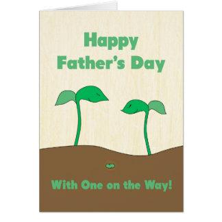 Gelukkig Vaderdag voor Papa om te zijn - Groene Briefkaarten 0