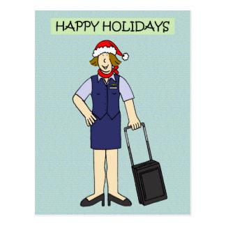 Gelukkig Vakantie aan of van de Bemanning van de Briefkaart