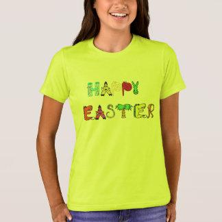 Gelukkig van het de t-shirtontwerp van Pasen T Shirt