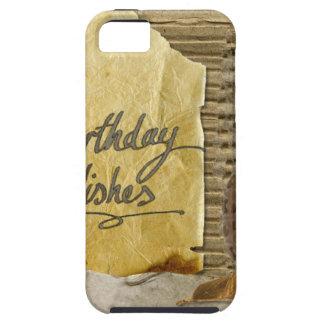 Gelukkig-verjaardag #3 tough iPhone 5 hoesje