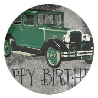 Gelukkig-verjaardag #5 bord