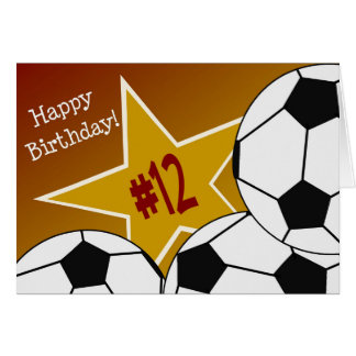 Gelukkige 12de Verjaardag, de Ster van het Briefkaarten 0