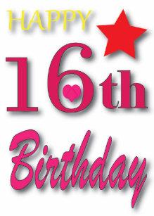 16de Verjaardag.16de Verjaardag Cadeaus Zazzle Nl