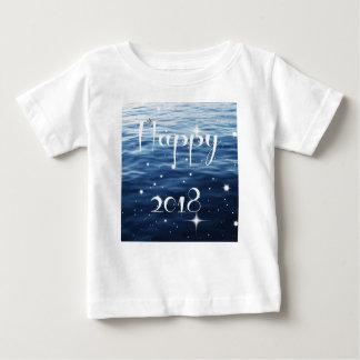 Gelukkige 2018 baby t shirts