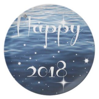 Gelukkige 2018 melamine+bord