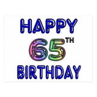 Gelukkige 65ste Verjaardag in de Doopvont van de B