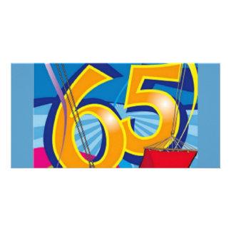 Gelukkige 65ste Verjaardag Kaart