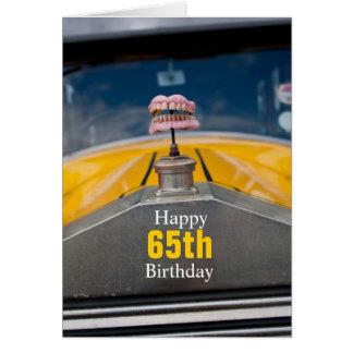 Gelukkige 65ste Verjaardag Wenskaart
