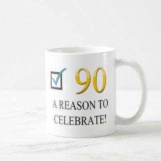 Gelukkige 90ste Verjaardag Koffiemok