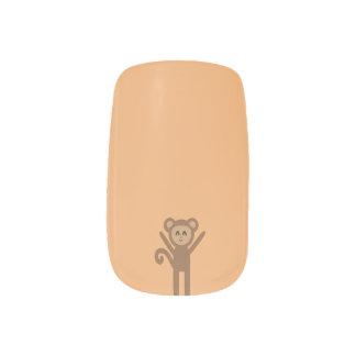 gelukkige aap minx nail art