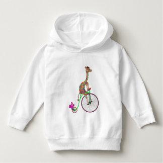 Gelukkige Biking door Happy Juul Company Hoodie