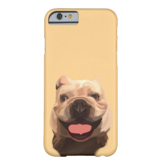 Gelukkige Buldog Barely There iPhone 6 Hoesje