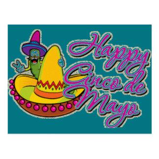 Gelukkige Cinco DE Mayo Briefkaart