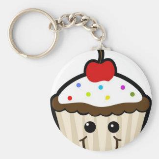 Gelukkige Cupcake Sleutel Hanger
