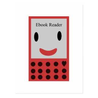 Gelukkige Ebook Lezer 2 Briefkaart