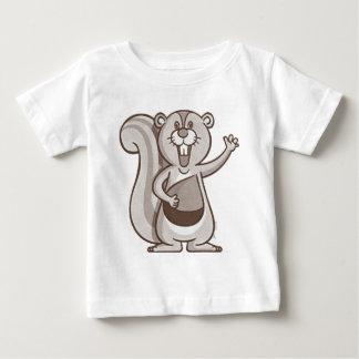 Gelukkige Eekhoorn Baby T Shirts