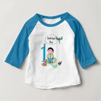 Gelukkige Eerste Verjaardag, Feestvarken Jersey Baby T Shirts