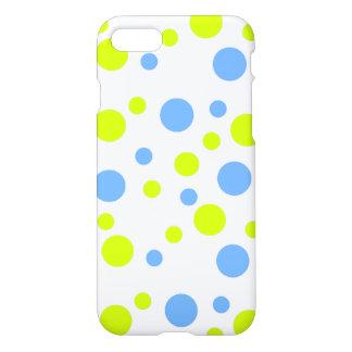 Gelukkige Gele Blauwe Bellen IPhone 8/7 Hoesje