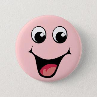 Gelukkige gelukkige GELUKKIGE HAPPPPAY! Ronde Button 5,7 Cm