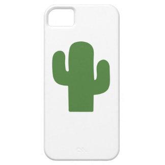 Gelukkige groene cactus in de roze zomer barely there iPhone 5 hoesje