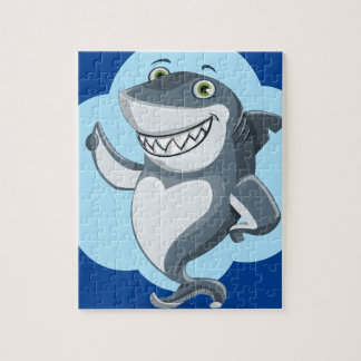 Gelukkige haai puzzel