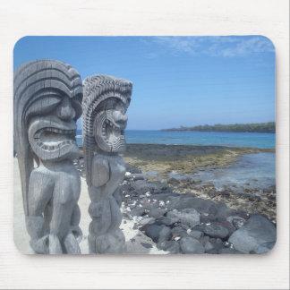 Gelukkige Hawaiiaanse mousepad van het tikistandbe Muismat