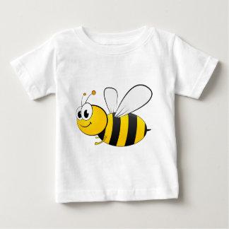 Gelukkige het Glimlachen van de cartoon Bij Baby T Shirts