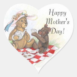 Gelukkige het moederdagStickers van Picnic~ van de Hart Sticker