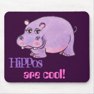 Gelukkige Hippo - het Stootkussen van de Muis Muismat