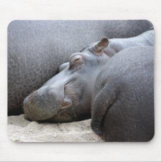 Gelukkige hippo mousemat muismatten