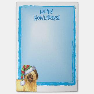 Gelukkige Howlidays Briard Post-it® Notes