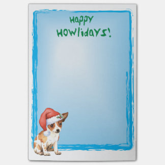 Gelukkige Howlidays Chihuahua Post-it® Notes