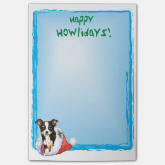 Gelukkige Howlidays Lange Laag Chihuahua Post-it® Notes