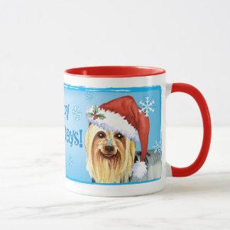 Gelukkige Howlidays Zijdeachtig Terrier Mok