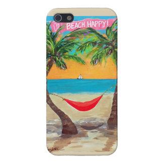 Gelukkige iPhone 5 van het strand Hoesje iPhone 5 Case