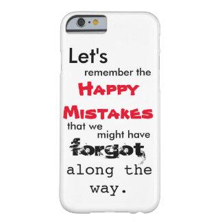 Gelukkige iPhone 6 van de Lyrische gedichten van Barely There iPhone 6 Hoesje