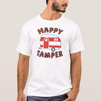Gelukkige Kampeerauto T Shirt