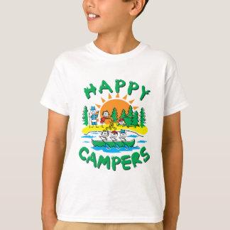 Gelukkige Kampeerauto's T Shirt