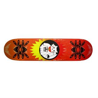 Gelukkige Kat - Maneki Neko betekent wenkend Kat Skateboard Deck