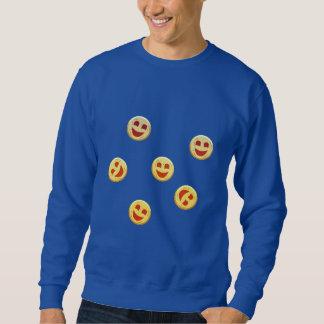 gelukkige koekjesgezichten trui