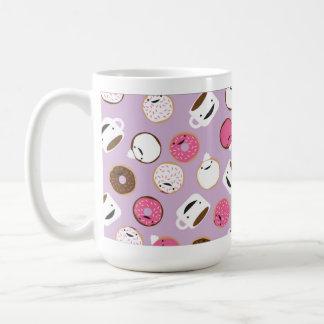 gelukkige koffie & donuts koffiemok